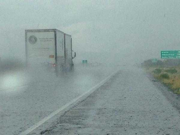 Gallup rain from @MikeSpringerKOAT