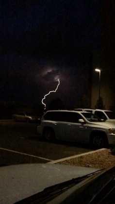 Monday night lightning from u local mobile