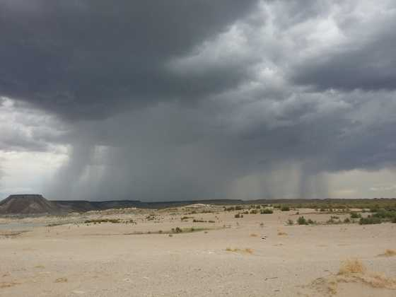 Rain at Elephant Butte from u local member Stephanie Gallegos