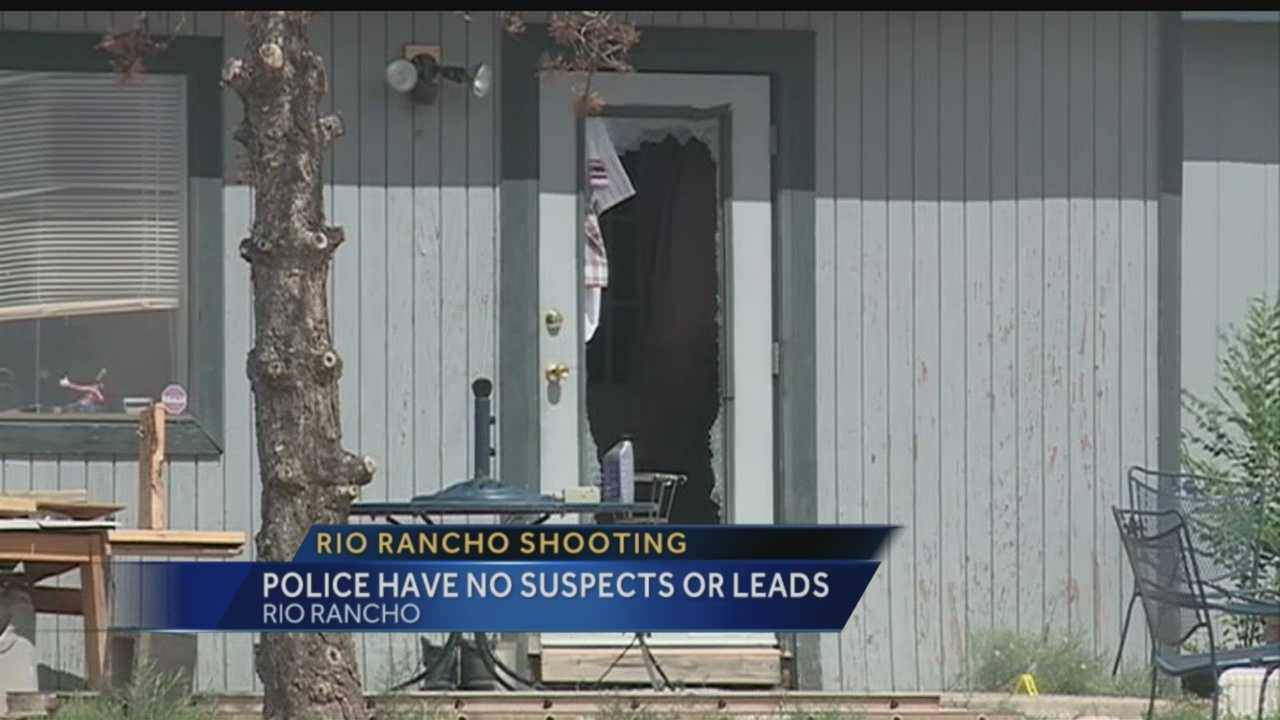 Rio Rancho police said a man died after being shot at his home early Wednesday morning.
