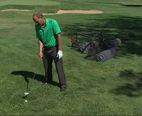 Amateurs sometimes fail to realize that where the ball is matters. Your stance on the fairway is going to be different that your stance in the rough even if you're using the same iron.
