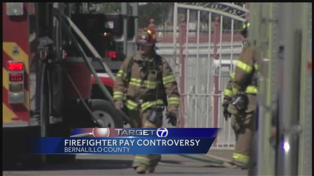 Target 7 discovered a local firefighter getting paid for hours he didn't work. He was recently promoted, then was moved to a desk job, after a car crash.