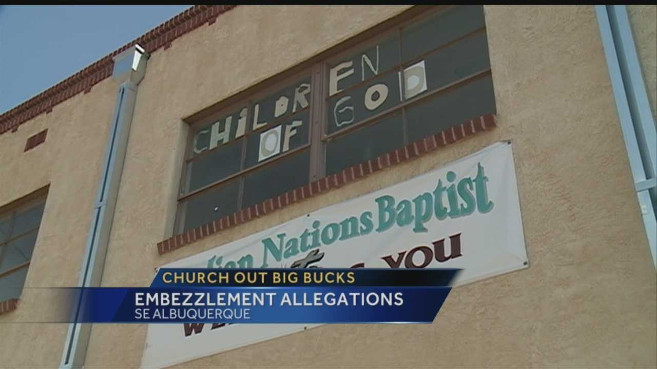 Hearts are heavy at an Albuquerque church tonight after police arrested its treasurer for embezzlement and fraud. As Action 7 News reporter Matt Howerton explains, it wasn't just money she took, but something even bigger.