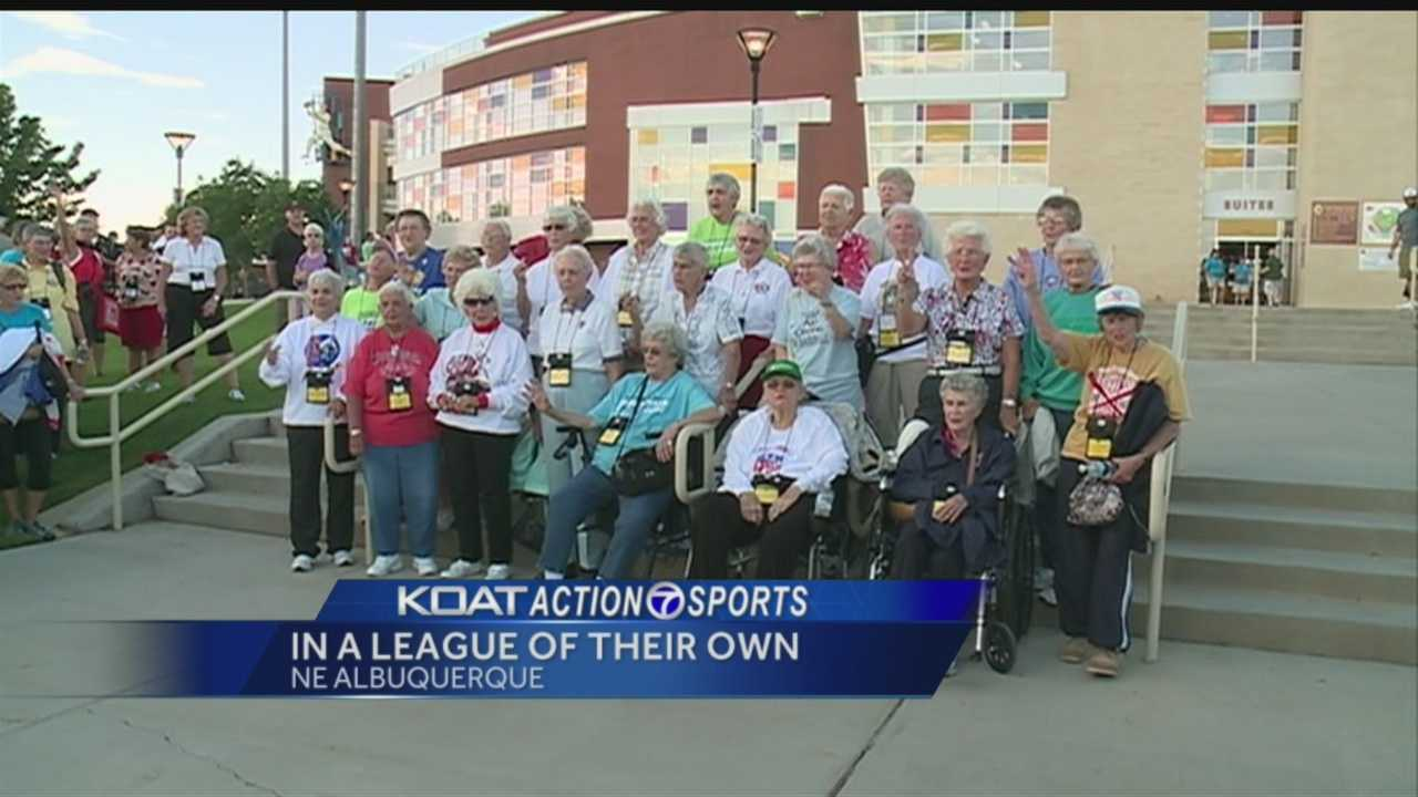 "Some of the women who inspired the movie ""A League of Their Own"" are in Albuquerque for a reunion."