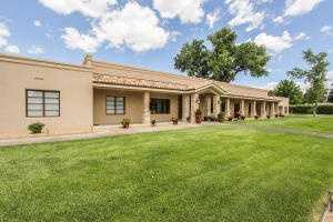 This $2.1 million home is for sale in Los Ranchos de Albuquerque.