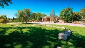 This $2.15 million home is for sale in Los Rancho de Albuquerque.