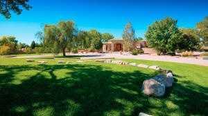 This $2.15 million home is for sale in Los Rancho de Albuquerque.