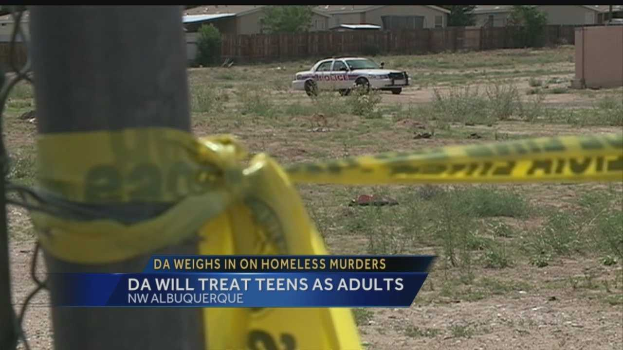 DA will treat teens as adults