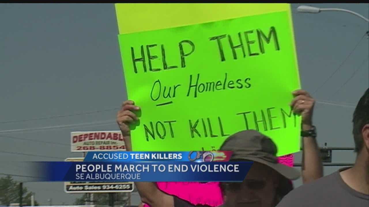It's been nearly a week since two homeless men were beaten to death in a vacant Albuquerque lot.