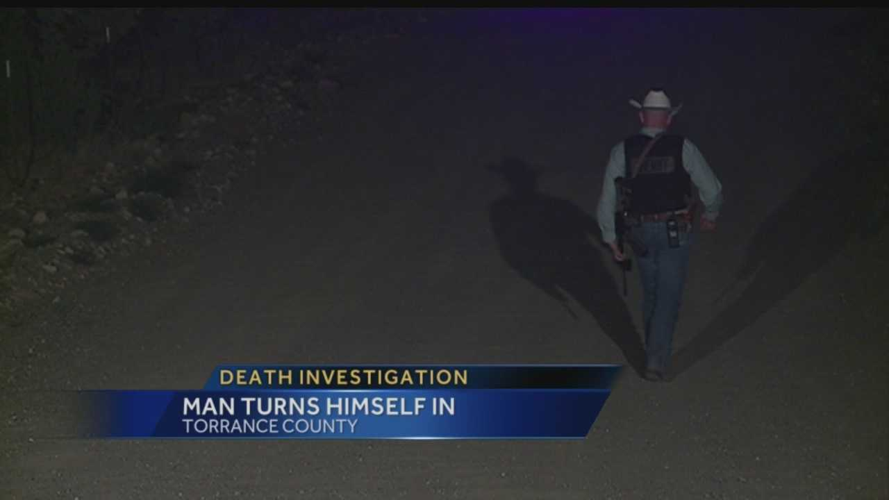 Sheriff: Man who left dead body half buried turns himself in