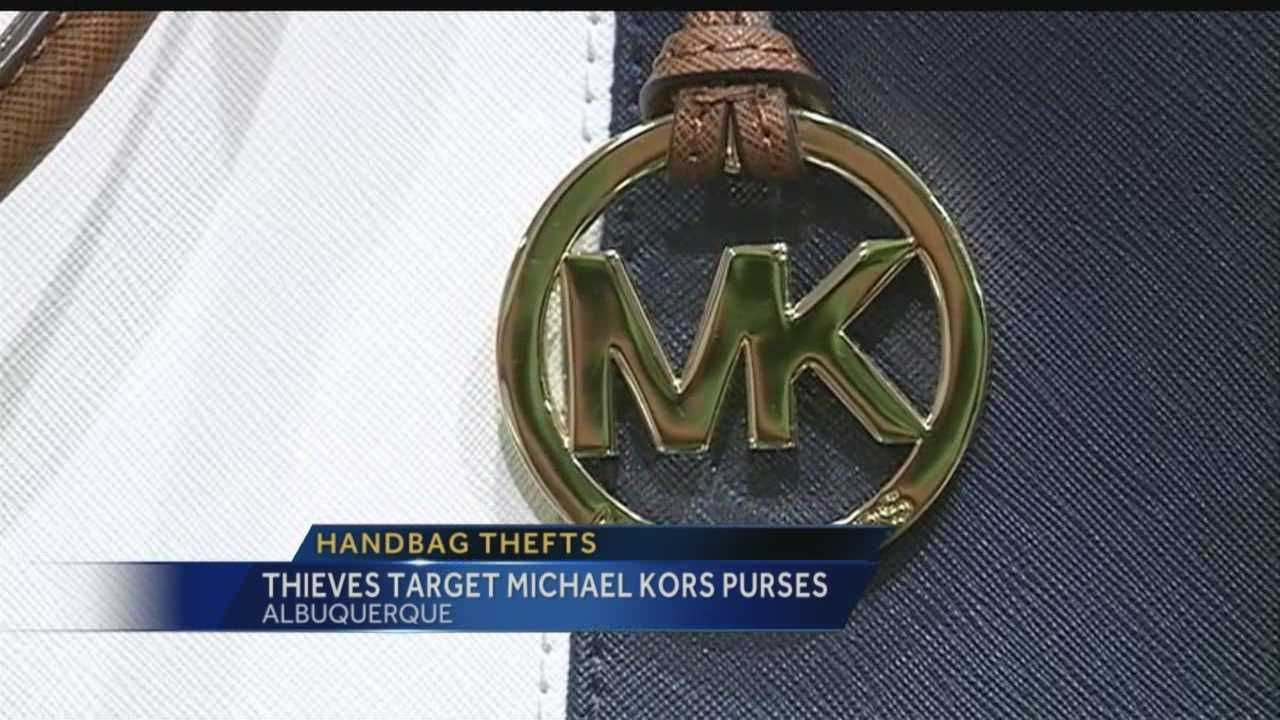 Lately Michael Kors purses aren't just being eyed by Albuquerque shoppers.