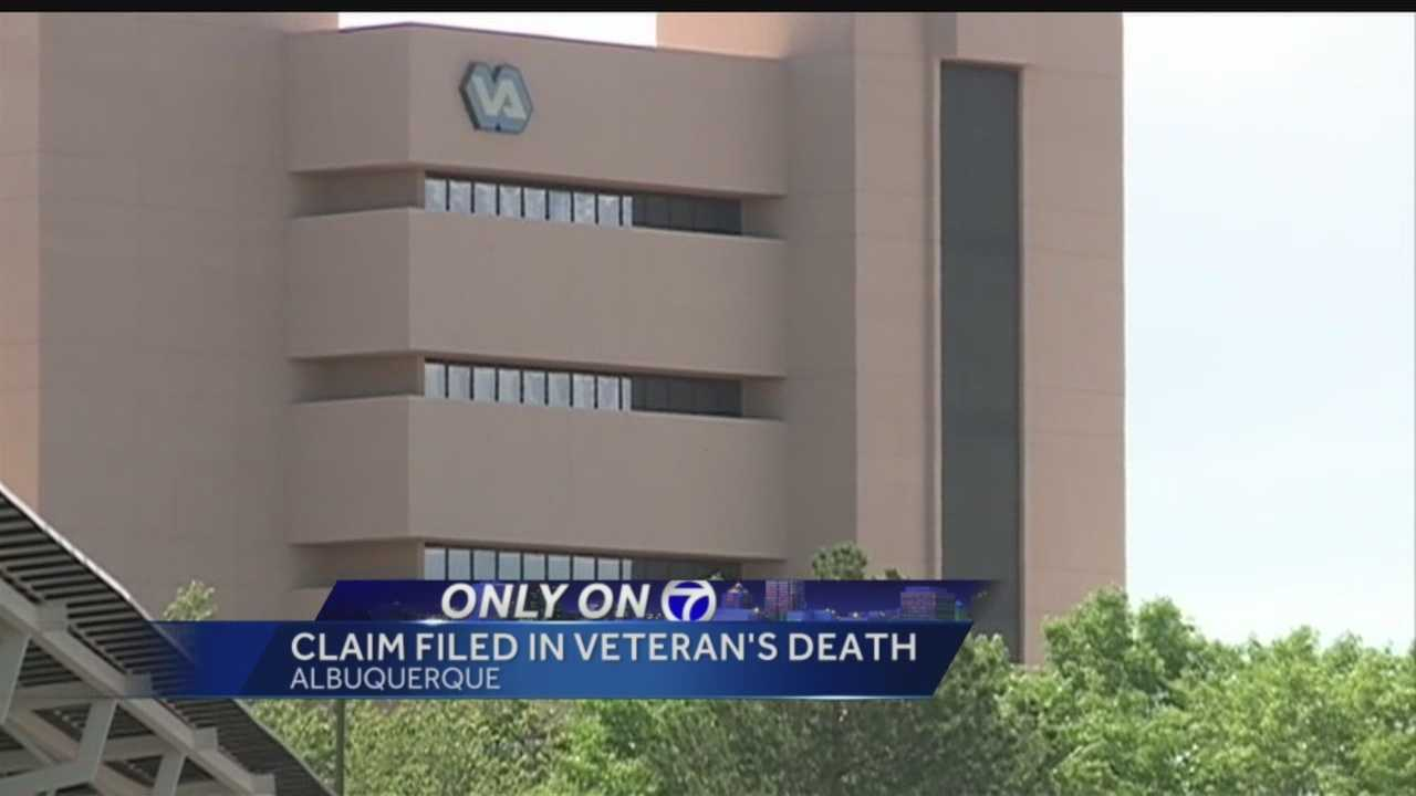 Claim filed in veteran's death
