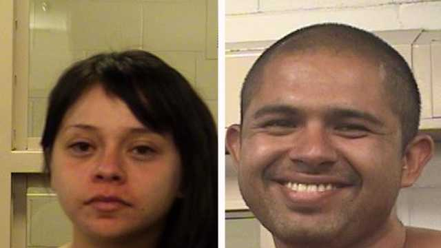 Adilene Perez, 23, and Ricardo Duarte, 29