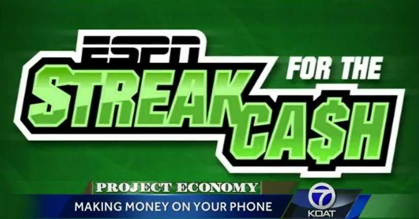 If you think you know sports, you can make some money with the ESPN Streak for the Cash app. It will reward you with cash if you have the longest streak of correct predictions on upcoming games. The person with the longest winning streak earns $50,000 every month.