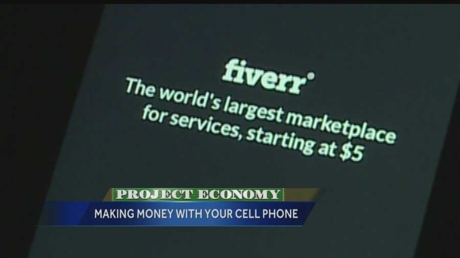Fiverr allows you to sell gigs for $5 each. A gig might be anything from completing some quick graphic design work, providing professional advice or creating personalized jewelry. If you have a talent or skill, chances are it can be turned into a Fiverr gig.