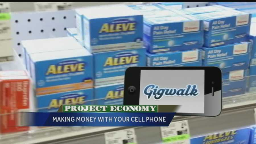 Gigwalk is an app that turns you into a secret shopper. Just snap photos of certain store items. With Gigwalk, you can connect with businesses looking to get local contract work done. Gigwalk says there are about $400,000 secret shoppers across America on average making $10 to $15 an hour.