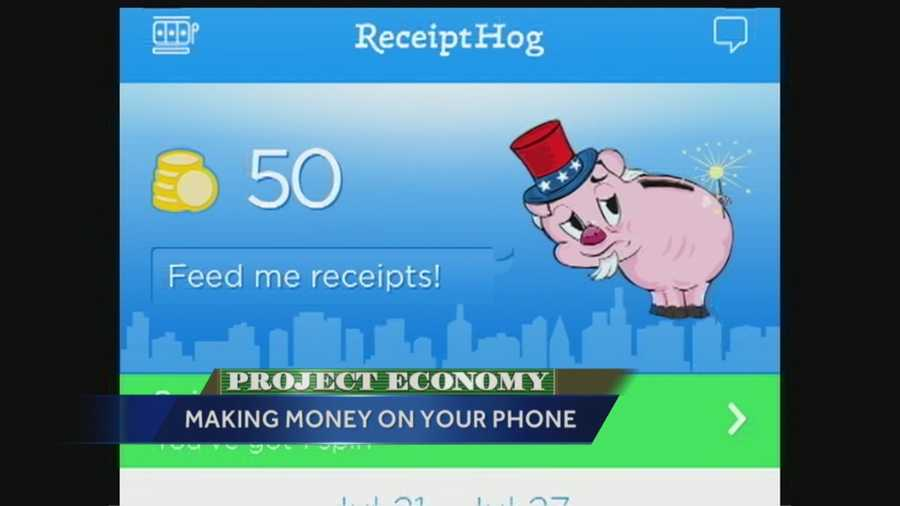 Receipt Hog is similar to Ibotta, but you don't have to shop anywhere specific or buy anything specific. Just take a picture of your receipt, and then the app rewards you with points toward an amazon gift card.