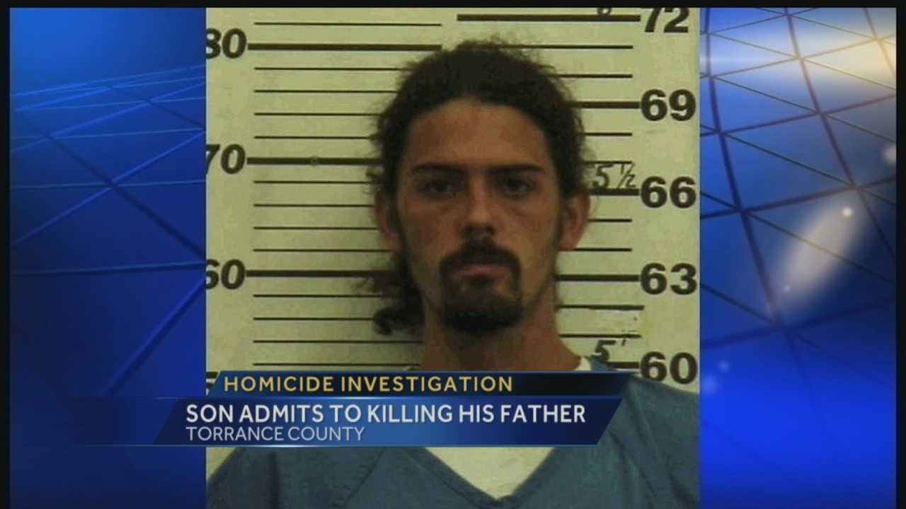 A 24-year-old man has been arrested and charged with killing his father.