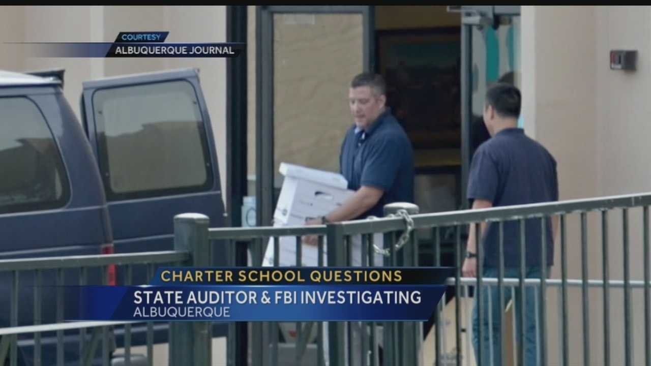 The state auditor and the FBI are taking a hard look at the man who runs four charter schools in Albuquerque. An auditor's report raises serious questions about whether he broke the law by mixing his position with the schools,  with his business.