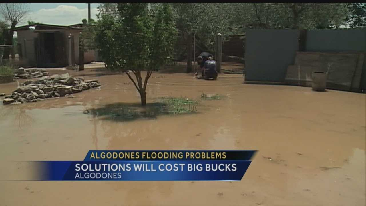We've been talking about the big flooding problems in Algodones for weeks. Heavy rain overflowed ditches and inundated homes, but officials say one man holds the key to a flooding fix.