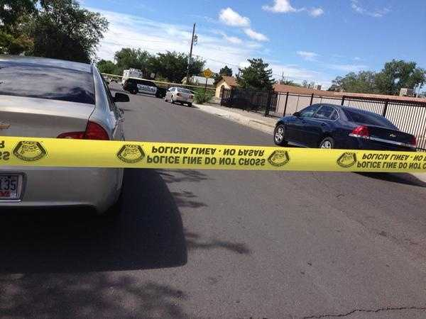 See photos of Thursday's homicide investigation.