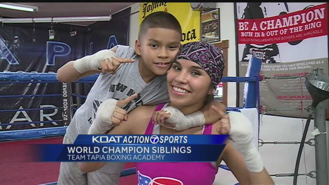 New Mexico continues to be home to a number of world champion fighters, but it's not often you find two under the same roof.