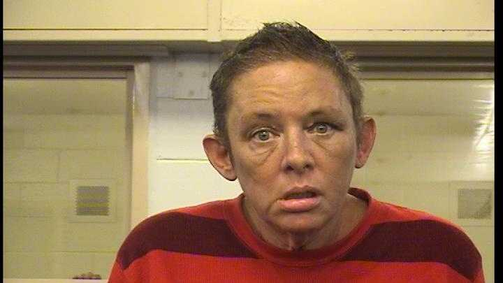 Shari Walters was arrested and charged with aggravated battery, assault with intent to commit a violent felony and animal cruelty.