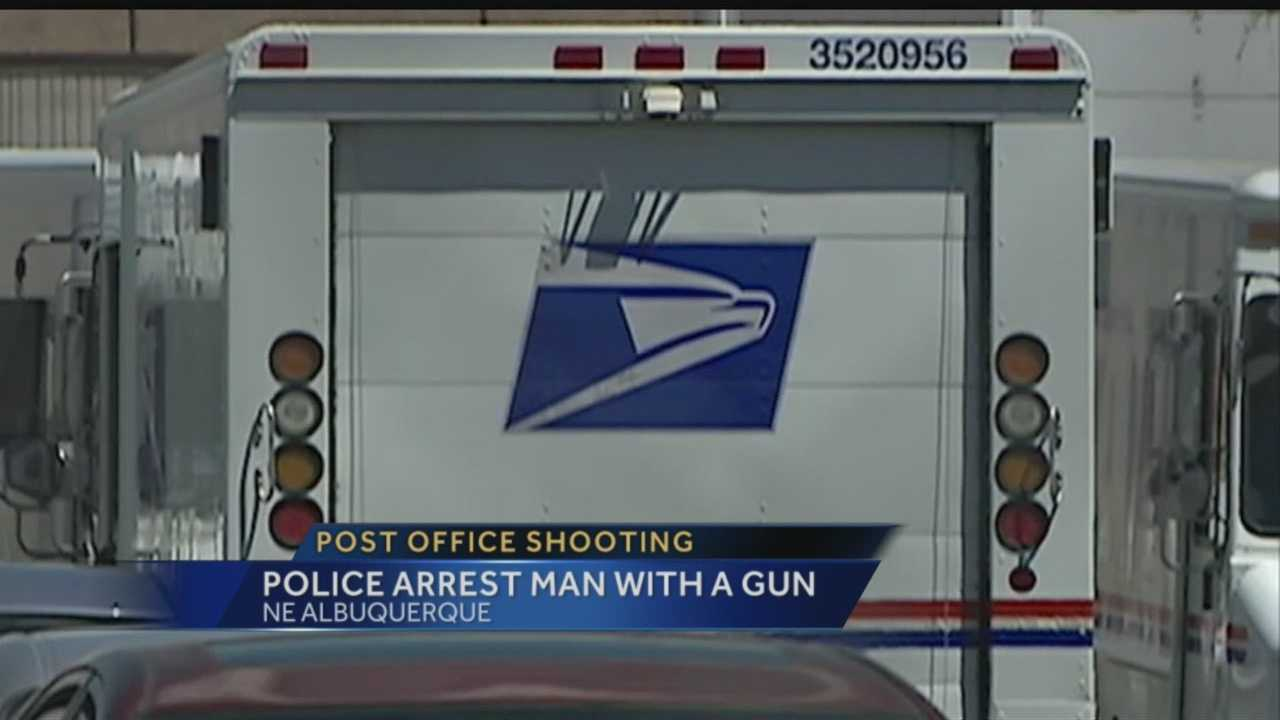 Post office shooting: Police arrest man with gun