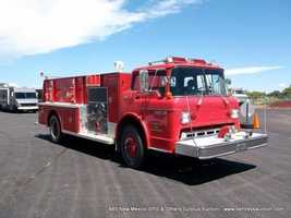1982 Ford C8000 Fire Truck