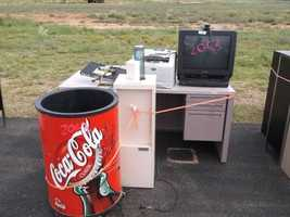 Coca Cola Ice Cooler and Water Cooler