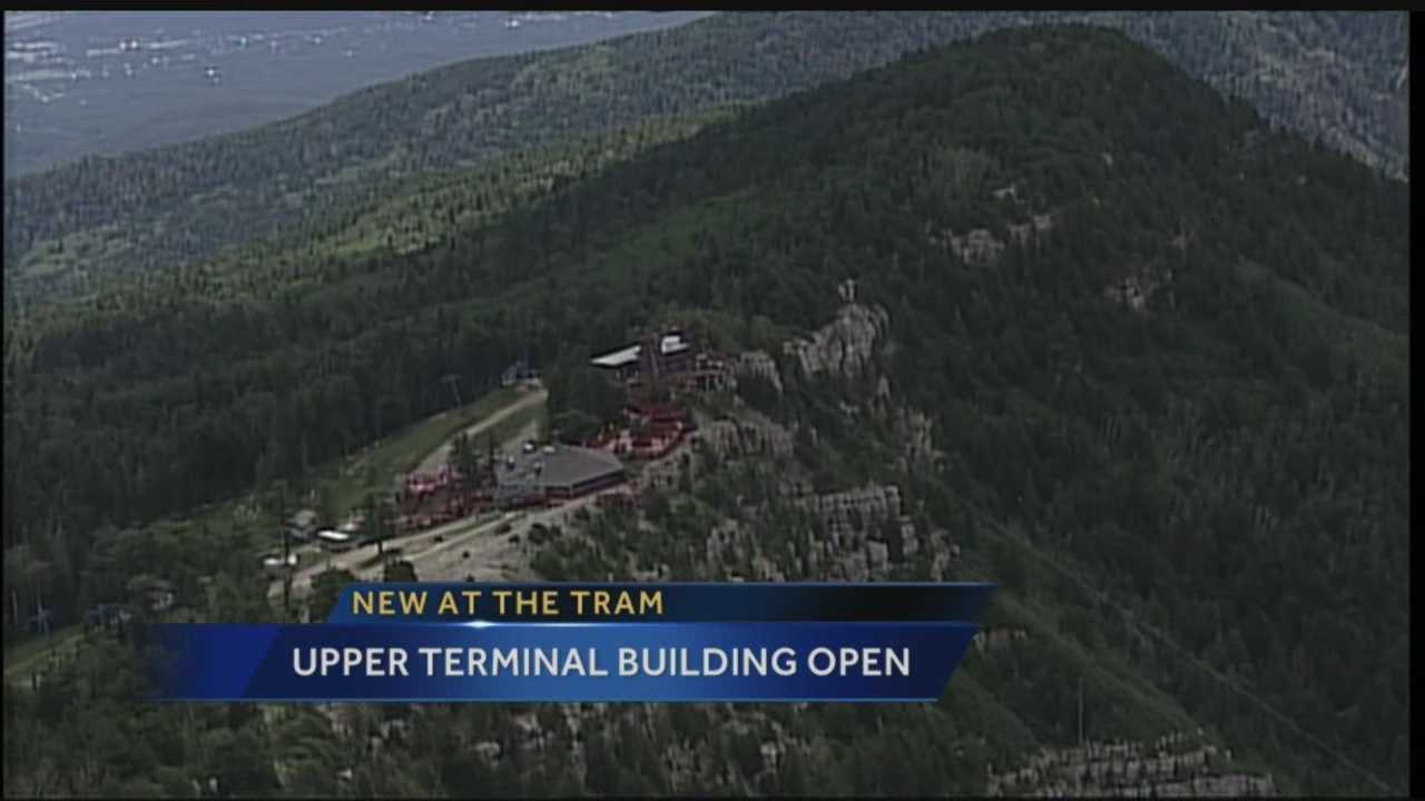 Upper terminal building open, Todd reports