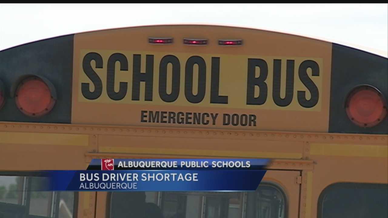 APS bus driver shortage