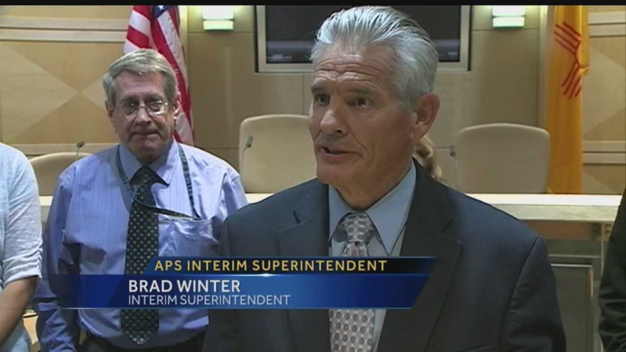 Board names interim superintendent
