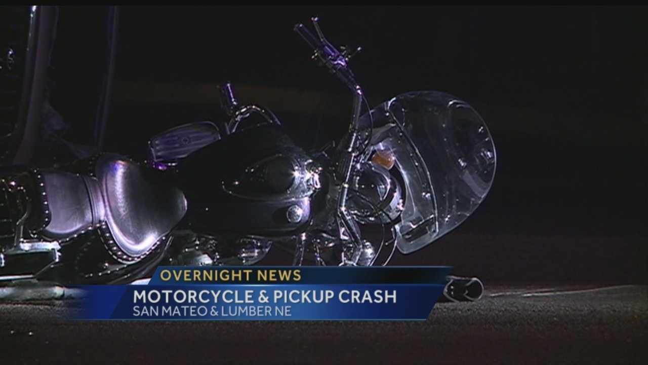 Overnight crash