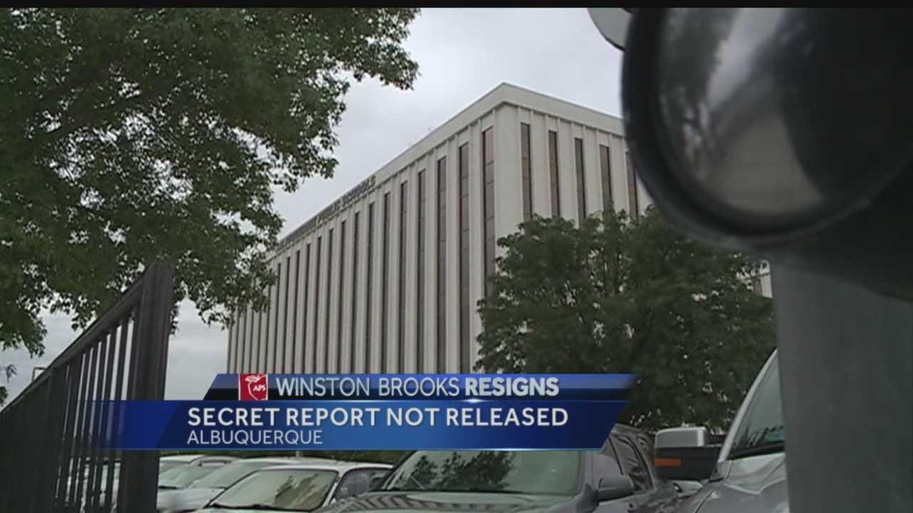 Winston Brooks resigns: Secret report not released