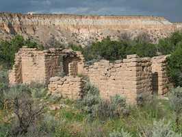 Tsankawi ruins (Los Alamos Canyon)