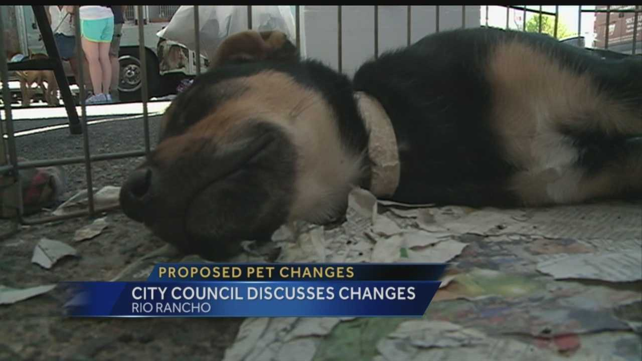 Rio Rancho Pet Policies Changing