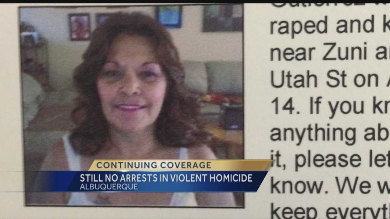 After two weeks, Albuquerque police don't have much to go on as they investigate a brutal beating death.