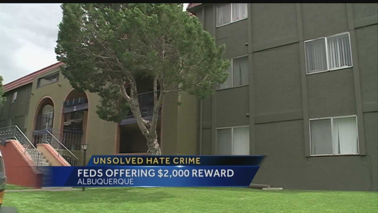 Unsolved hate crime