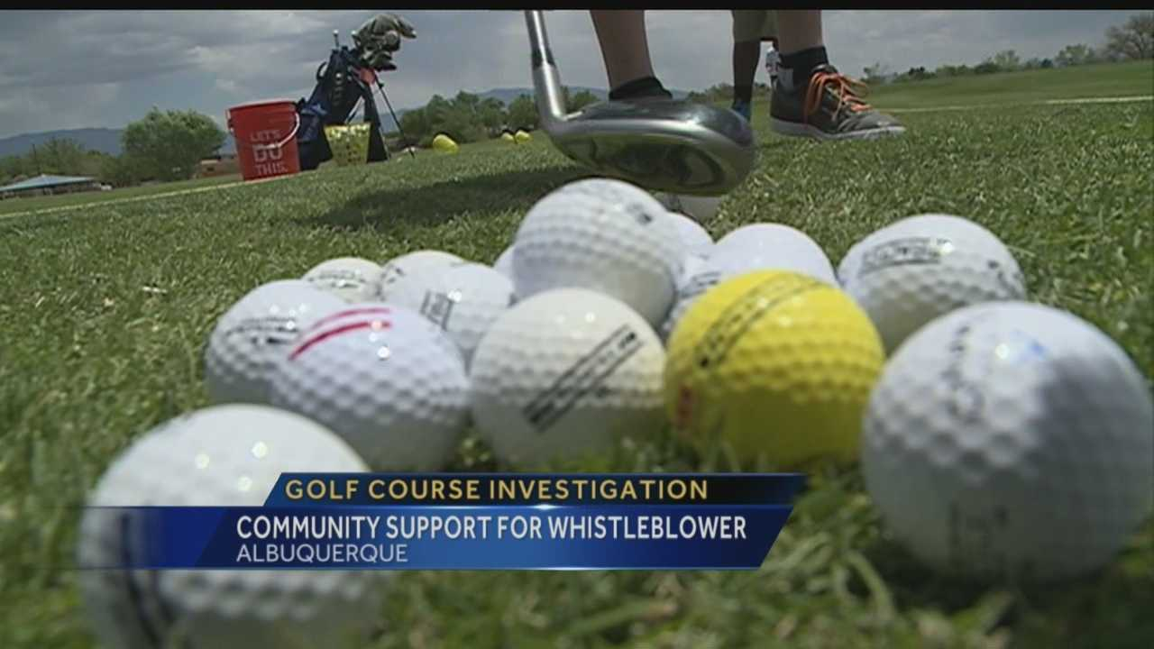 Community supports golf course whistleblower