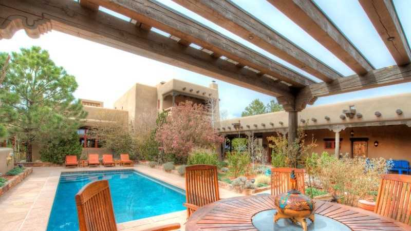 Take a peek at this $14.7 million ranch for sale in Santa Fe, N.M. featured on Realtor.com