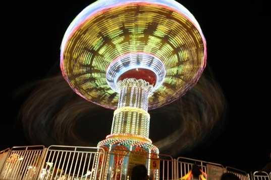 Skydancer ride at the Carnival