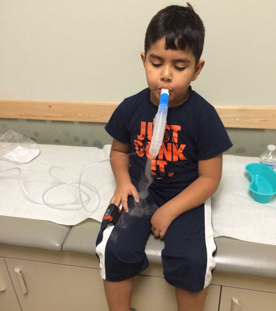 A 4-year-old in New Mexico is being tested for Enterovirus. He could be the first confirmed case in the state.