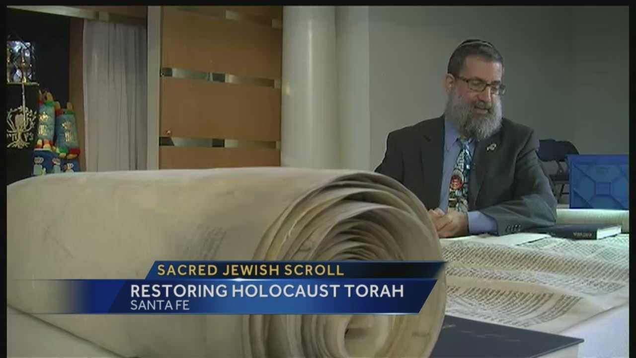 An ancient Jewish scroll survived the holocaust, and now has a second chance. KOAT Action 7 News reporter Alana Grimstad shows us what a Santa Fe synagogue has done to preserve its history, and what lessons we can learn from this experience