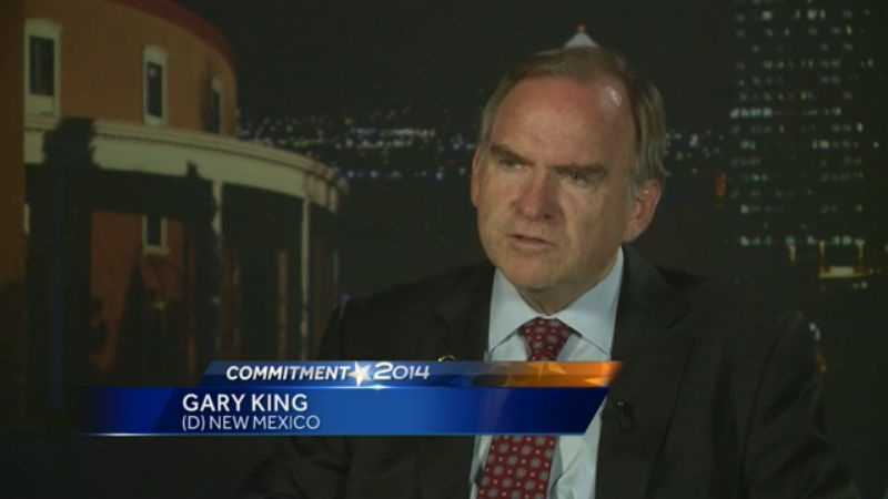 Gary King makes his case for governor in an exclusive interview.
