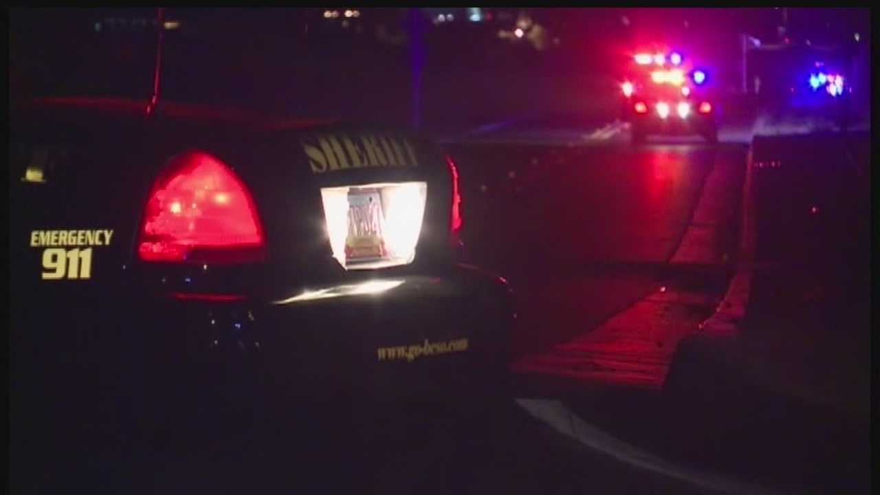 One person was detained after a car chase ended in southwest Albuquerque Thursday night.
