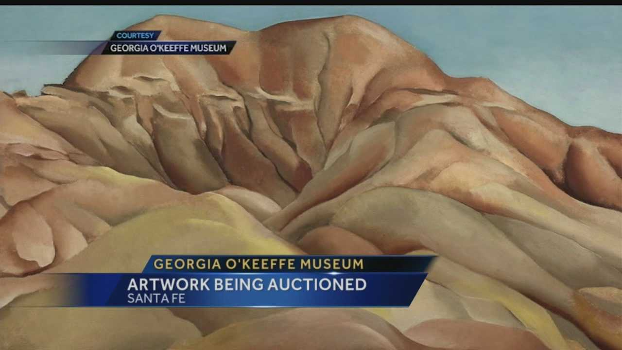 The Georgia O'Keeffe Museum has decided to sell three works by the American modernist painter to benefit its acquisitions fund.