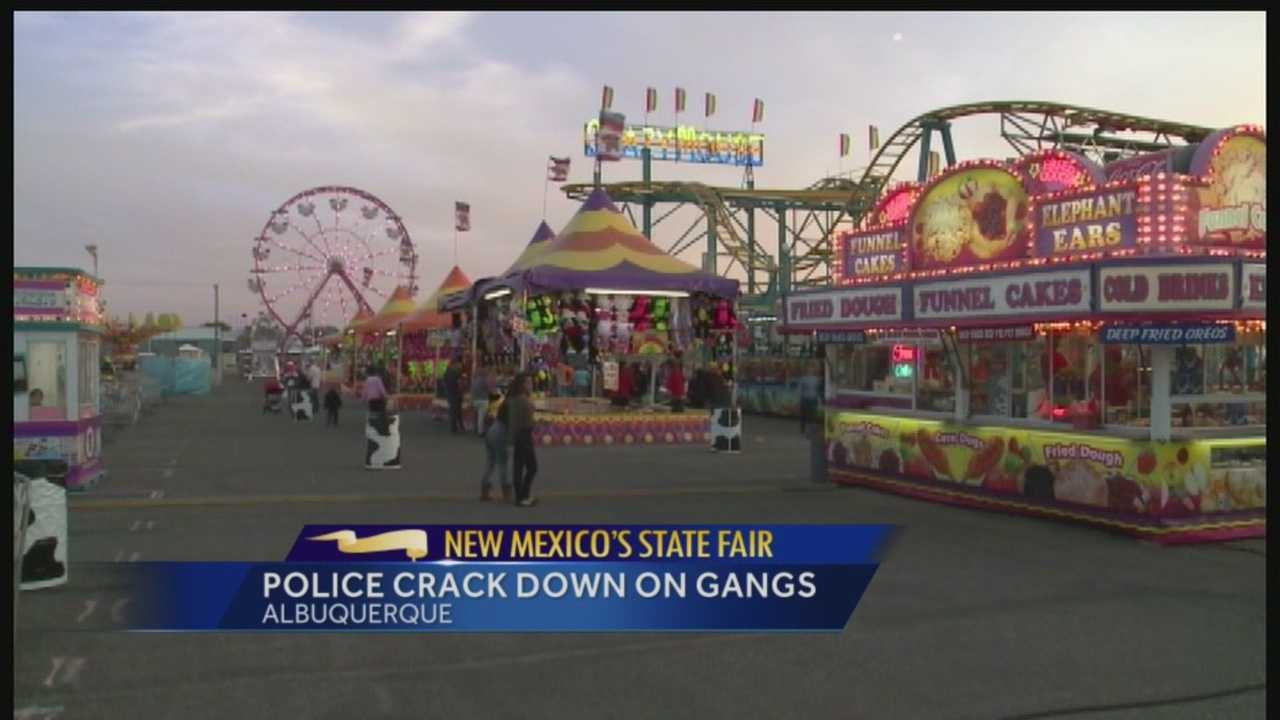 The New Mexico State Fair draws thousand each year. This year, Albuquerque and state police say they're on alert for trouble at the fairgrounds, including DWI, public intoxication and gang activity.