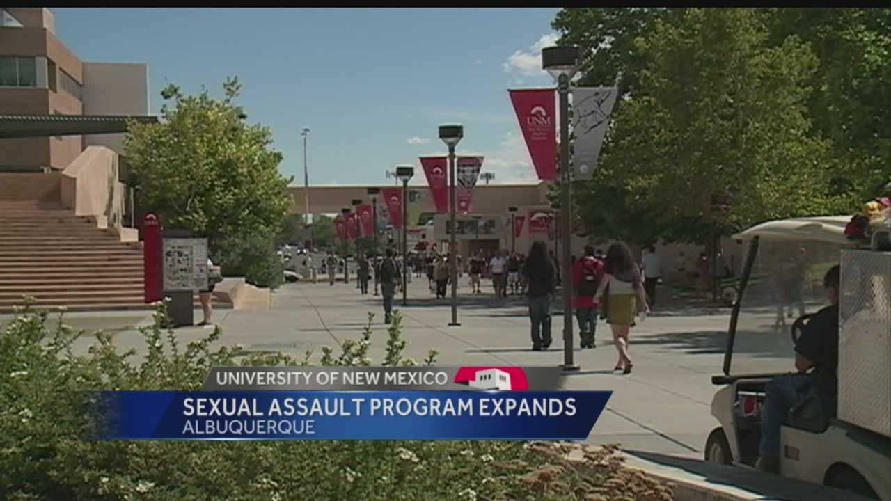 A UNM Program created to address sexual assault is expanding. It was established a year ago. Now for the first time, Action 7 News reporter Angela Brauer explains what they've accomplished, and what's next