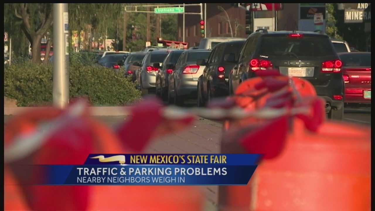 State Fair Traffic and Parking Problems